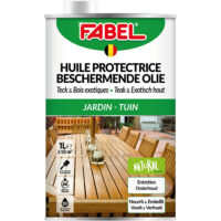Fabel Beschermendeolieteak Exotischhout1l