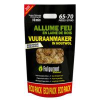 Fulgurant vuuraanmaker houtwol ecologisch