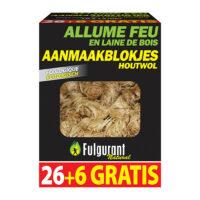 Fulgurant Vuuraanmakerhoutwol 6gratis