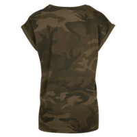 T-shirt in camouflagekleuren