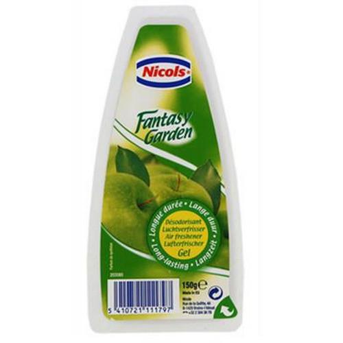 Het laat een heerlijk frisse geur achter waardoor uw toilet een aangename plek zal zijn voor iedereen! Nicols Luchtverfrisser Gel - fantasy garden is er voor een langdurige frisheid.