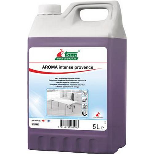 Aroma intense provence is een neutraal reinigingsmiddel, voor vloeren en oppervlakken, geparfupeerd (tot 24u,