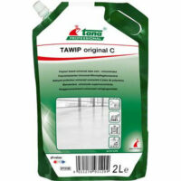 TAWIP original C reinigt en onderhoudt de vloer in één bewerking enlaat een aangename geur na.