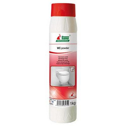 WC powder is gemakkelijk en snel toepasbaar.