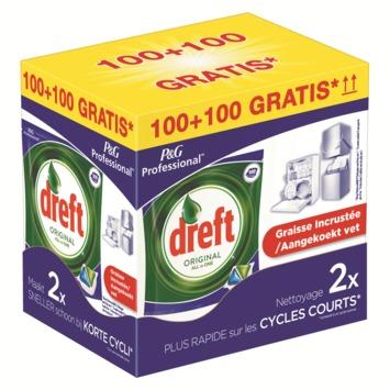 Dreft All-in-one regular 100+100 gratis PROMOBOX