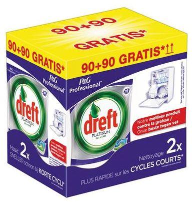 Dreft Platinum 90+90gratis Promobox