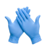Hy@pro handschoen, vinyl, blauw gepoederd